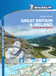 Buy map Great Britain & Ireland, Touring and Road Atlas (122) by Michelin Maps and Guides