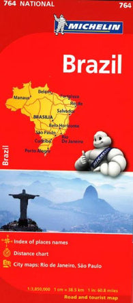 Buy map Brazil (764) by Michelin Maps and Guides