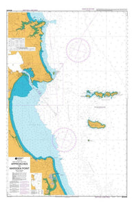 Buy map APPROACHES TO MARSDEN POINT (5219) by Land Information New Zealand (LINZ)