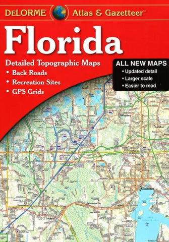 Buy map Florida, Atlas and Gazetteer by DeLorme