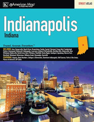 Buy map Indianapolis, IN, Street Atlas by Kappa Map Group
