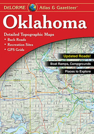 Buy map Oklahoma, Atlas and Gazetteer by DeLorme