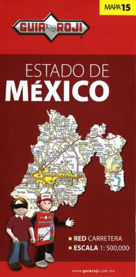 Buy map Mexico, Mexico, State Map by Guia Roji