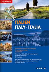Buy map Italy, Road Atlas Travelmag (German, English, Italian ed) by Kunth Verlag