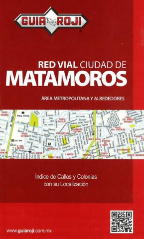 Buy map Matamoros, Mexico by Guia Roji