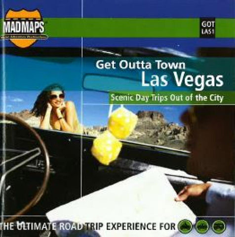 Buy map Las Vegas, Nevada, Get Outta Town by MAD Maps