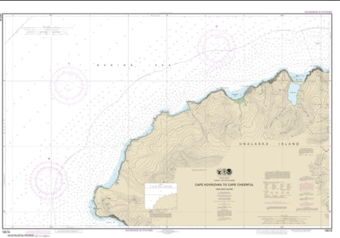 Buy map Cape Kavrizhka to Cape Cheerful (16518-7) by NOAA