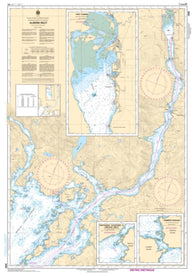Buy map Alberni Inlet by Canadian Hydrographic Service