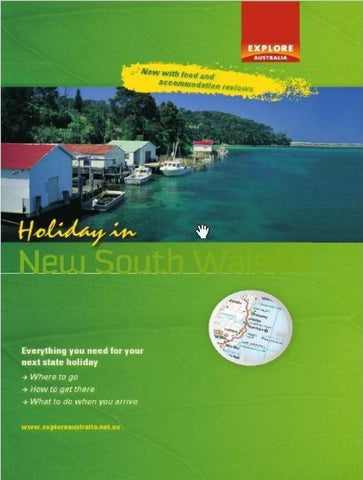 Buy map Holiday in New South Wales by Universal Publishers Pty Ltd