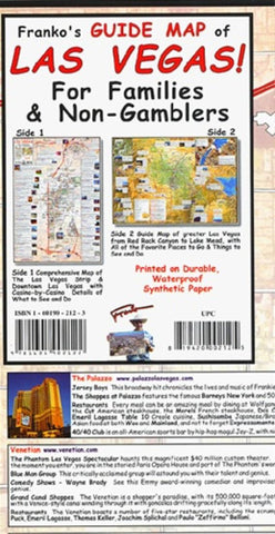 Buy map Las Vegas Family Guide, Laminated Map by Frankos Maps Ltd.