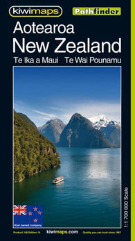 Buy map New Zealand/Aotearoa, Pathfinder Map by Kiwi Maps