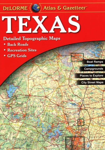 Buy map Texas, Atlas and Gazetteer by DeLorme
