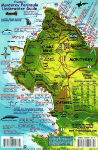 Buy map California Fish Card, Monterey Peninsula 2011 by Frankos Maps Ltd.