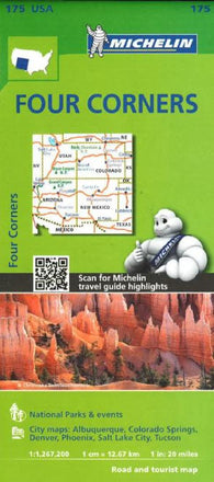 Buy map Four Corners (175) by Michelin Maps and Guides