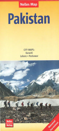 Buy map Pakistan by Nelles Verlag GmbH