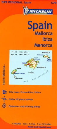 Buy map Balearic Islands, Spain (579) by Michelin Maps and Guides