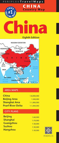 Buy map China by Periplus Editions