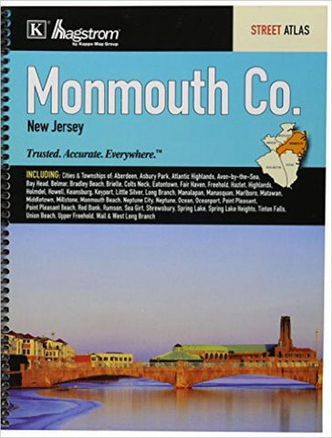 Buy map Monmouth County, New Jersey, Atlas by Kappa Map Group