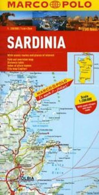 Buy map Sardinia by Marco Polo Travel Publishing Ltd