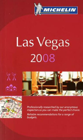 Buy map Las Vegas, Nevada, Red Guide by Michelin Maps and Guides