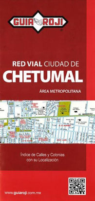 Buy map Chetumal, Mexico by Guia Roji
