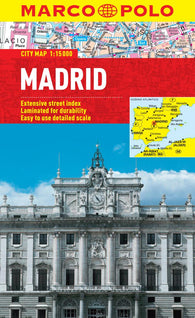 Buy map Madrid, Spain by Marco Polo Travel Publishing Ltd