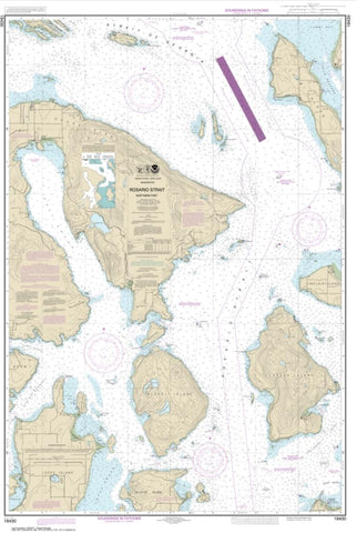 Buy map Rosario Strait-northern part (18430-9) by NOAA