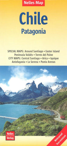 Buy map Chile and Patagonia by Nelles Verlag GmbH