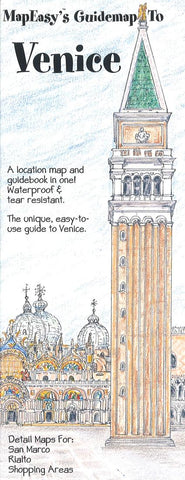 Buy map Venice, Italy Guidemap by MapEasy, Inc.