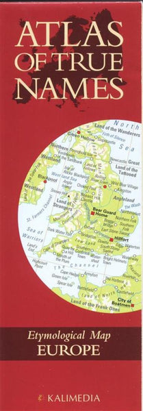 Buy map Atlas of True Names, Europe by Kalimedia