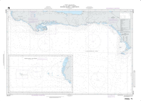 Buy map Navassa Island To Cabo Beata (NGA-26210-3) by National Geospatial-Intelligence Agency