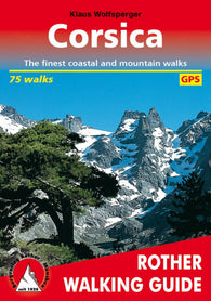 Buy map Corsica, Walking Guide by Rother Walking Guide, Bergverlag Rudolf Rother