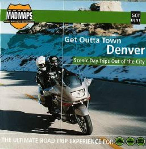 Buy map Denver, Colorado, Get Outta Town by MAD Maps