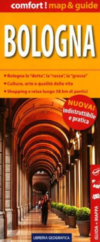 Buy map Bologna, Laminated City Map by Libreria Geografica