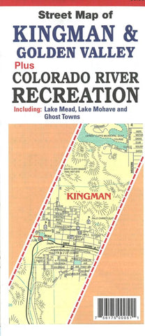 Buy map Street Map of Kingman and Golden Valley, Arizona by North Star Mapping