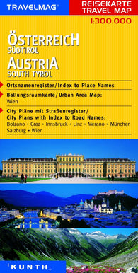 Buy map Austria and South Tyrol by Kunth Verlag