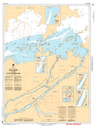 Buy map East Channel to/au Little Playgreen Lake by Canadian Hydrographic Service