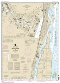 Buy map Trenton Channel and River Rouge; River Rouge (14854-14) by NOAA