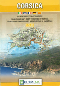 Buy map Corsica, France by Litografia Artistica Cartografica