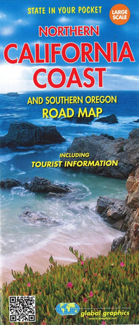 Buy map California Coast, Northern and Oregon, Southern by Global Graphics