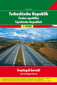 Buy map Czech Republic, Road Atlas by Freytag-Berndt und Artaria