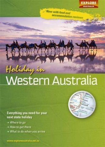 Buy map Holiday in Western Australia by Universal Publishers Pty Ltd