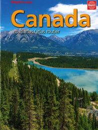 Buy map Canada Road Atlas (French/English edition) by MapArt Corporation