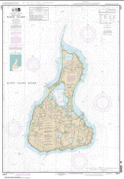 Buy map Block Island (13217-17) by NOAA