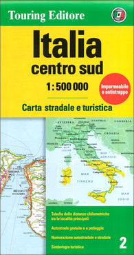 Buy map Italy, South-Central by Touring Club Italiano