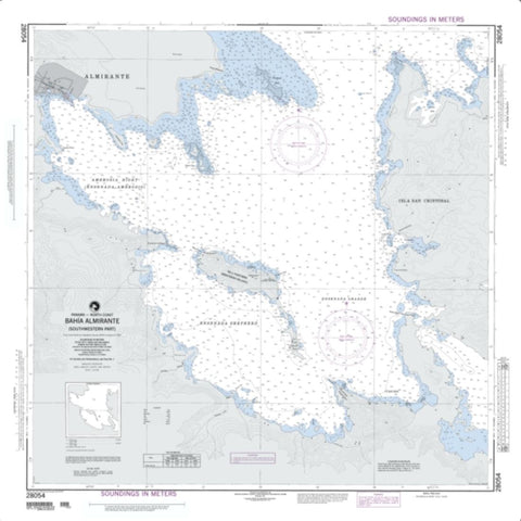 Buy map Bahia Almirante (NGA-28054-2) by National Geospatial-Intelligence Agency