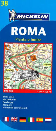 Buy map Rome, Italy (38) by Michelin Maps and Guides