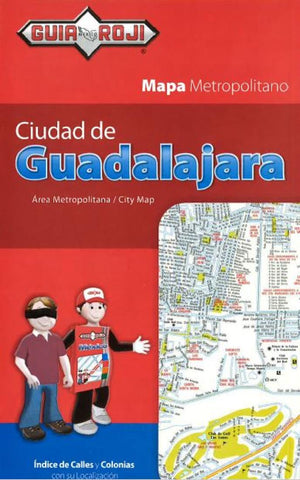 Buy map Guadalajara, Mexico, Tourist Map by Guia Roji