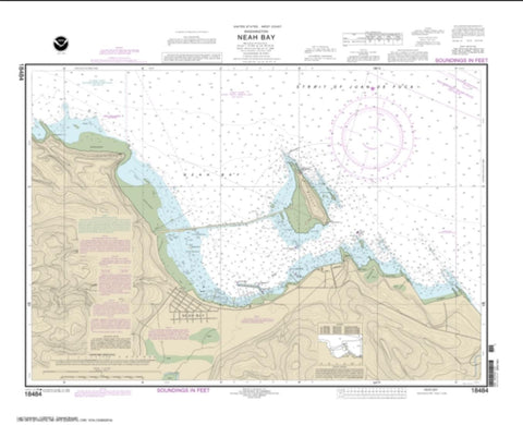 Buy map Neah Bay (18484-12) by NOAA