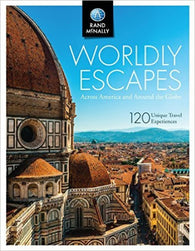 Buy map Worldly Escapes: Across America and Around the Globe by Rand McNally